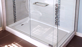 douche de verre sur mesure vitrerie syver structure et douches en verre sur mesure. Black Bedroom Furniture Sets. Home Design Ideas