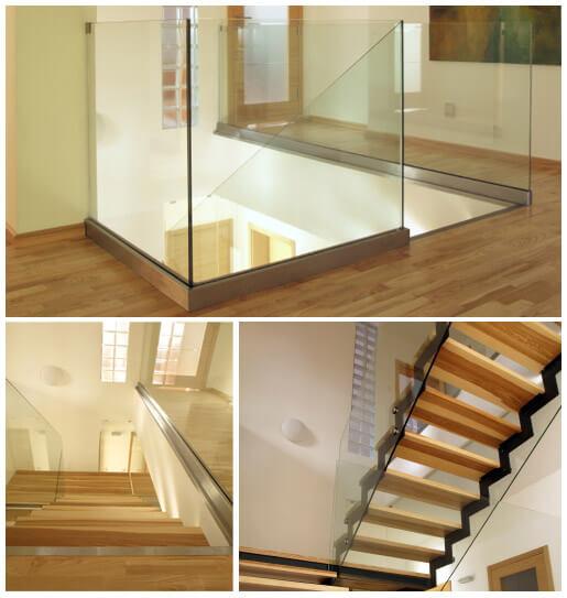 douche de verre sur mesure vitrerie syver rampe de verre structure et douches en verre sur. Black Bedroom Furniture Sets. Home Design Ideas